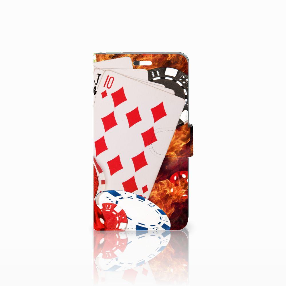 Huawei P9 Plus Uniek Boekhoesje Casino