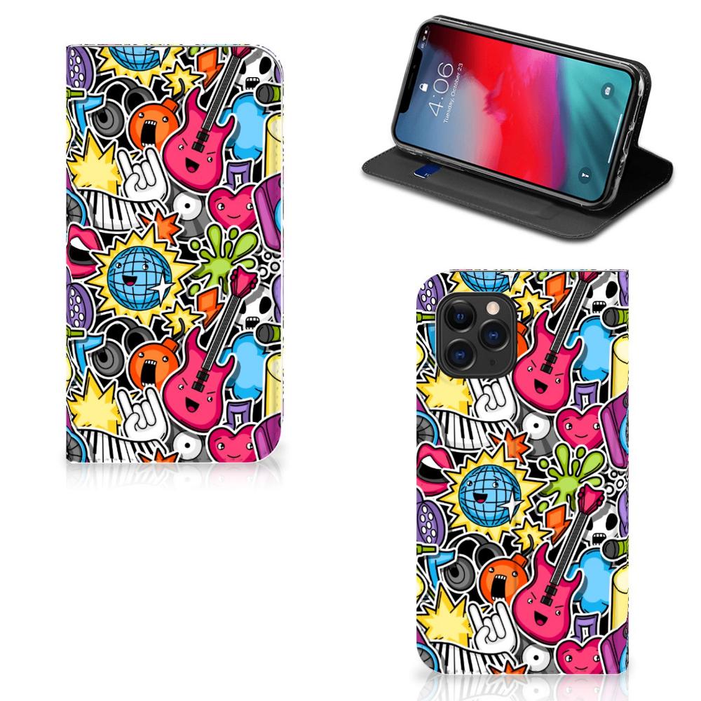 Apple iPhone 11 Pro Hippe Standcase Punk Rock