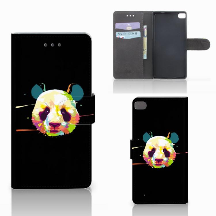 Huawei P8 Leuke Hoesje Panda Color