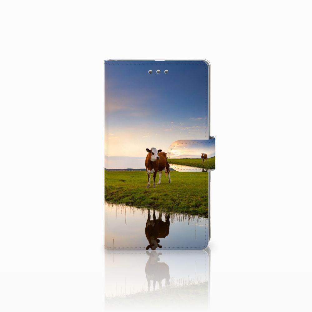 Microsoft Lumia 950 XL Boekhoesje Design Koe