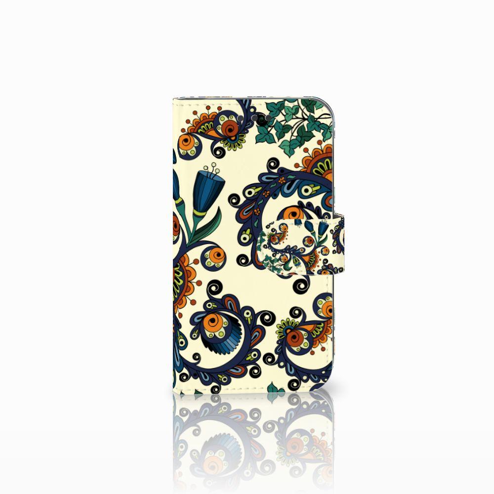 Wallet Case Samsung Galaxy S3 i9300 Barok Flower