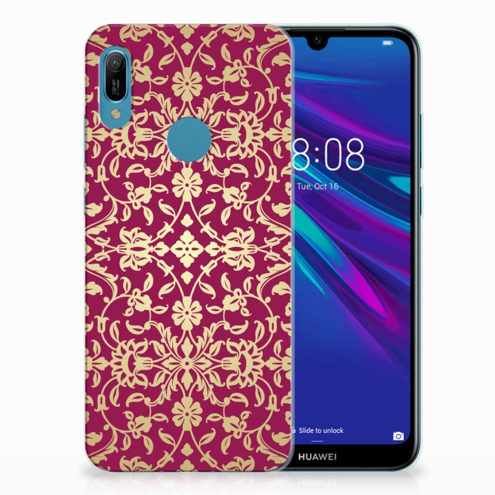 Siliconen Hoesje Huawei Y6 2019 | Y6 Pro 2019 Barok Pink