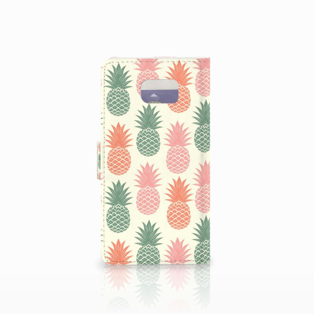 Samsung Galaxy Note 5 Book Cover Ananas