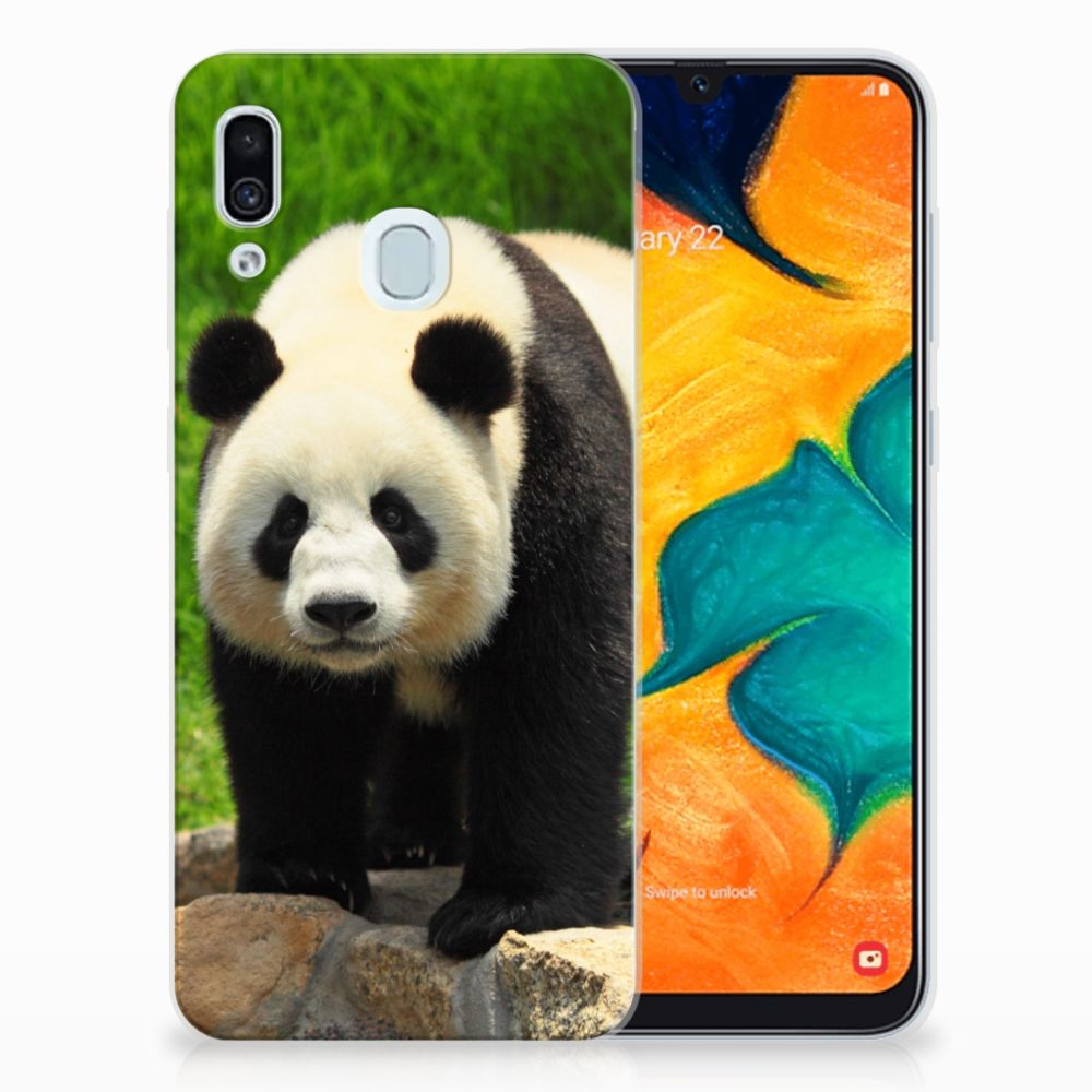 Samsung Galaxy A30 TPU Hoesje Panda