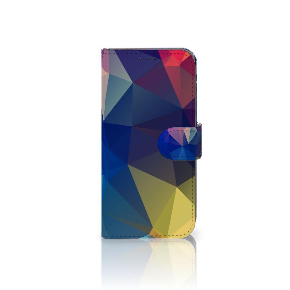 Samsung Galaxy J5 2017 Bookcase Polygon Dark