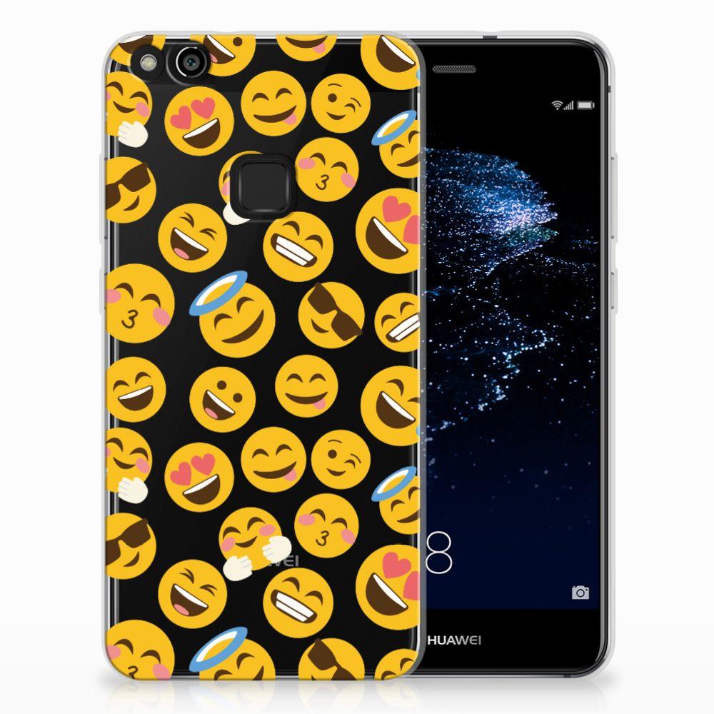 Huawei P10 Lite TPU Hoesje Design Emoji