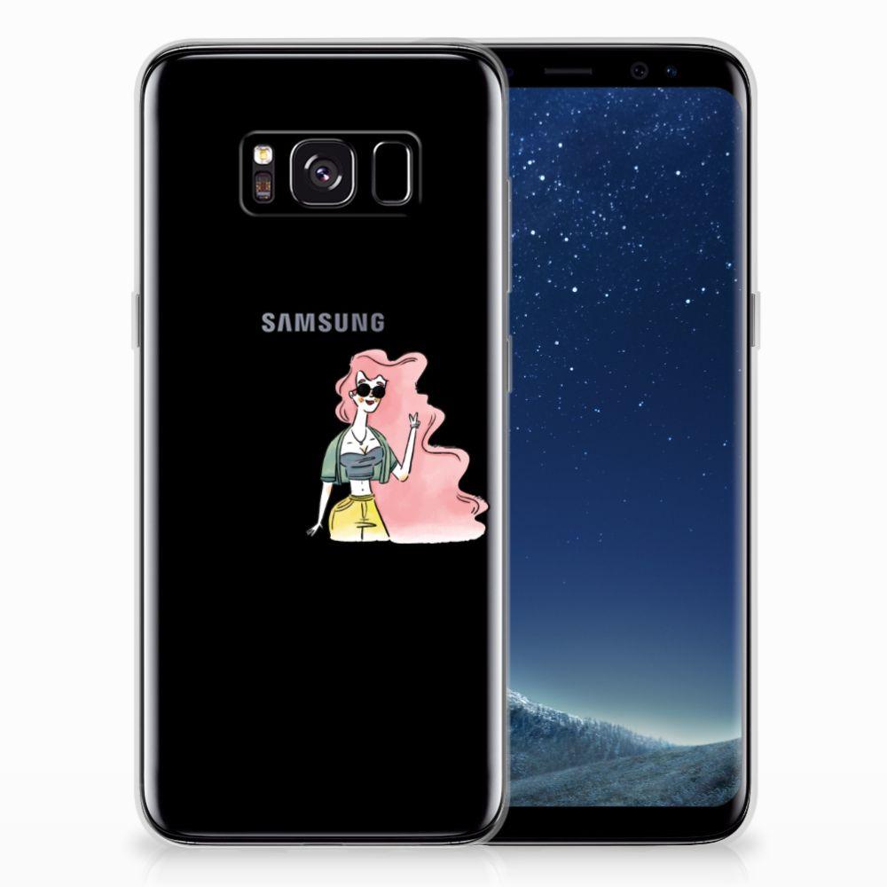 Samsung Galaxy S8 Telefoonhoesje met Naam i Can