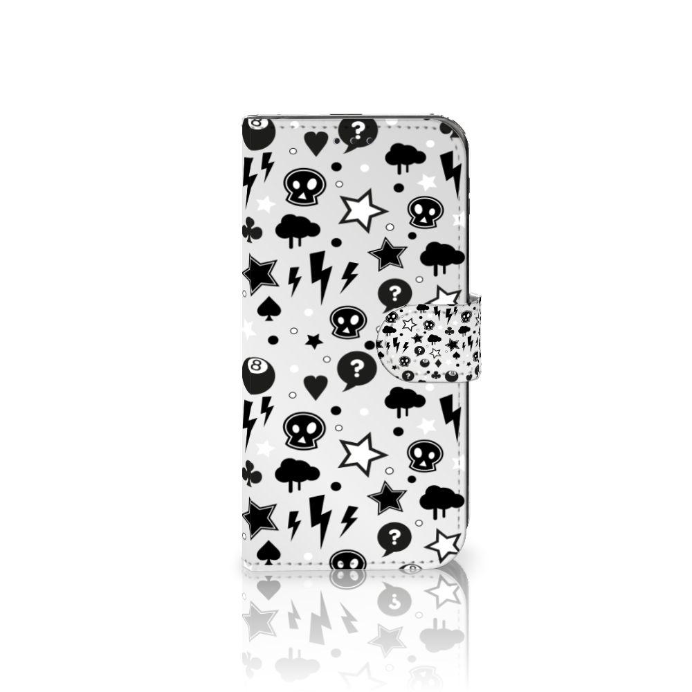 Samsung Galaxy J5 2017 Uniek Boekhoesje Silver Punk