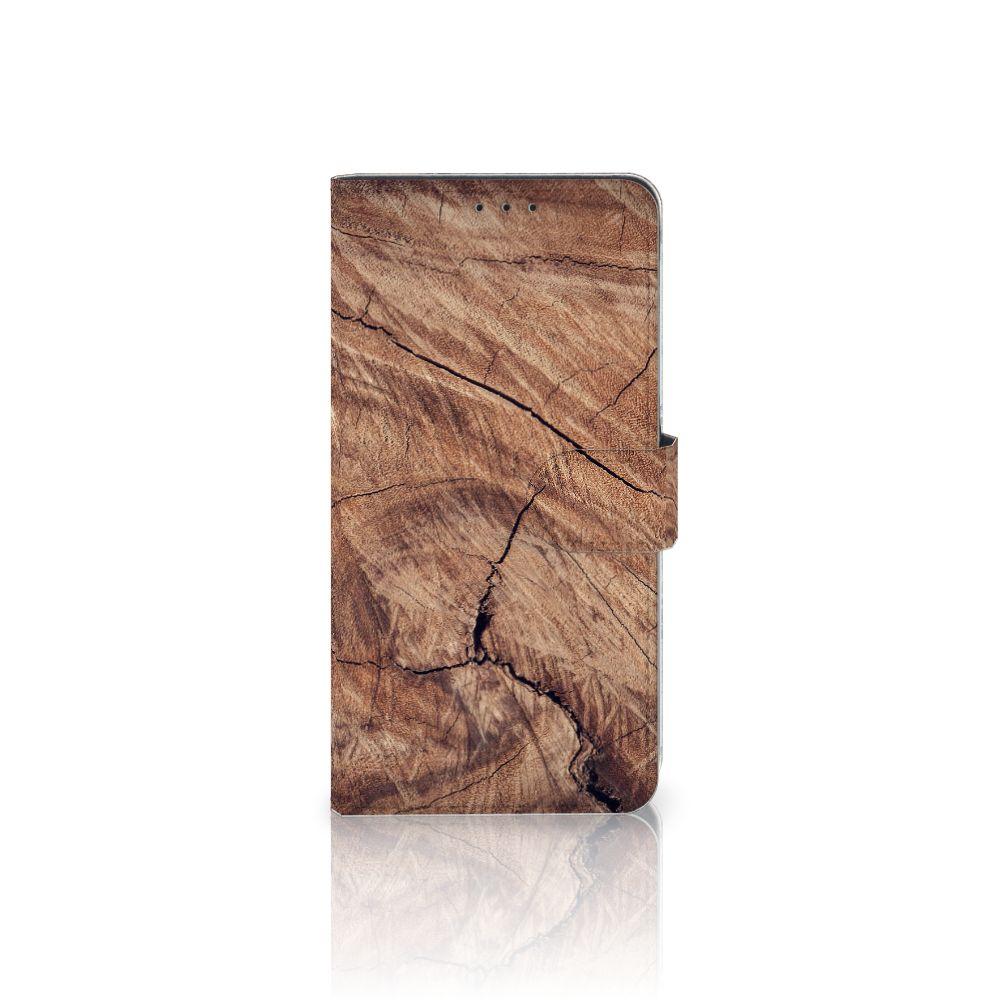 Samsung Galaxy A8 Plus (2018) Boekhoesje Design Tree Trunk