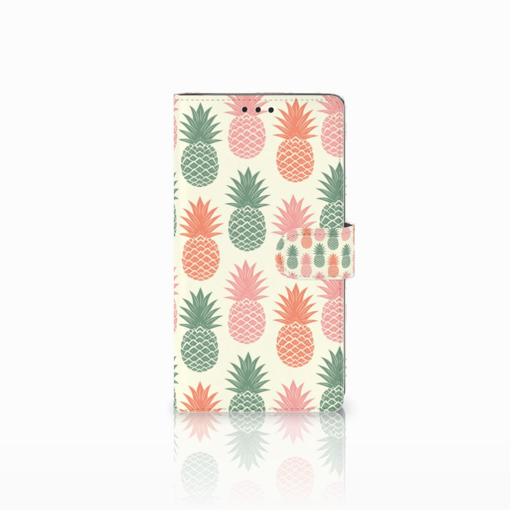 Sony Xperia XA2 Ultra Boekhoesje Design Ananas