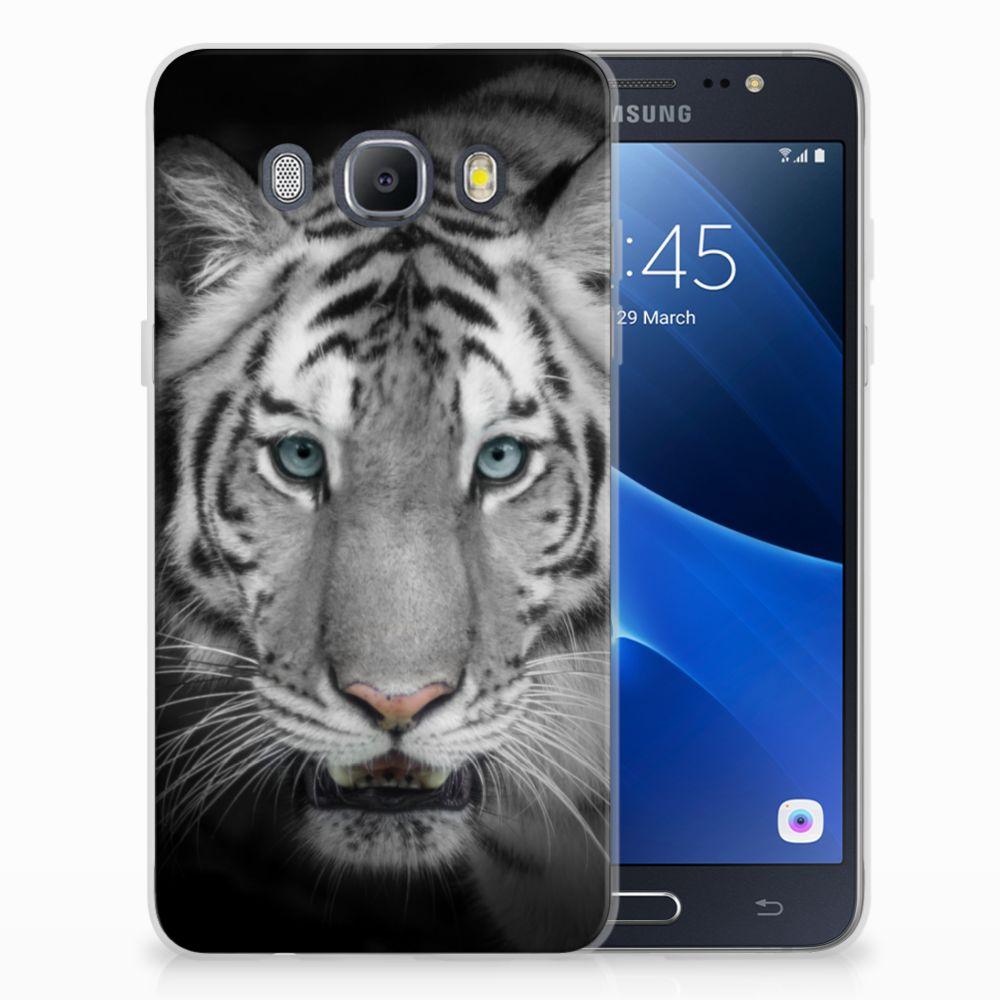 Samsung Galaxy J5 2016 Uniek TPU Hoesje Tijger