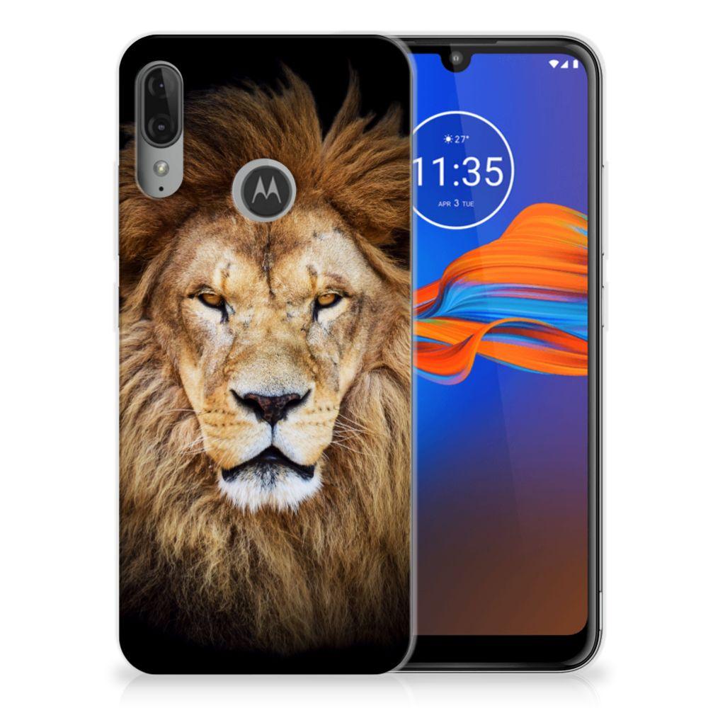 Motorola Moto E6 Plus TPU Hoesje Leeuw
