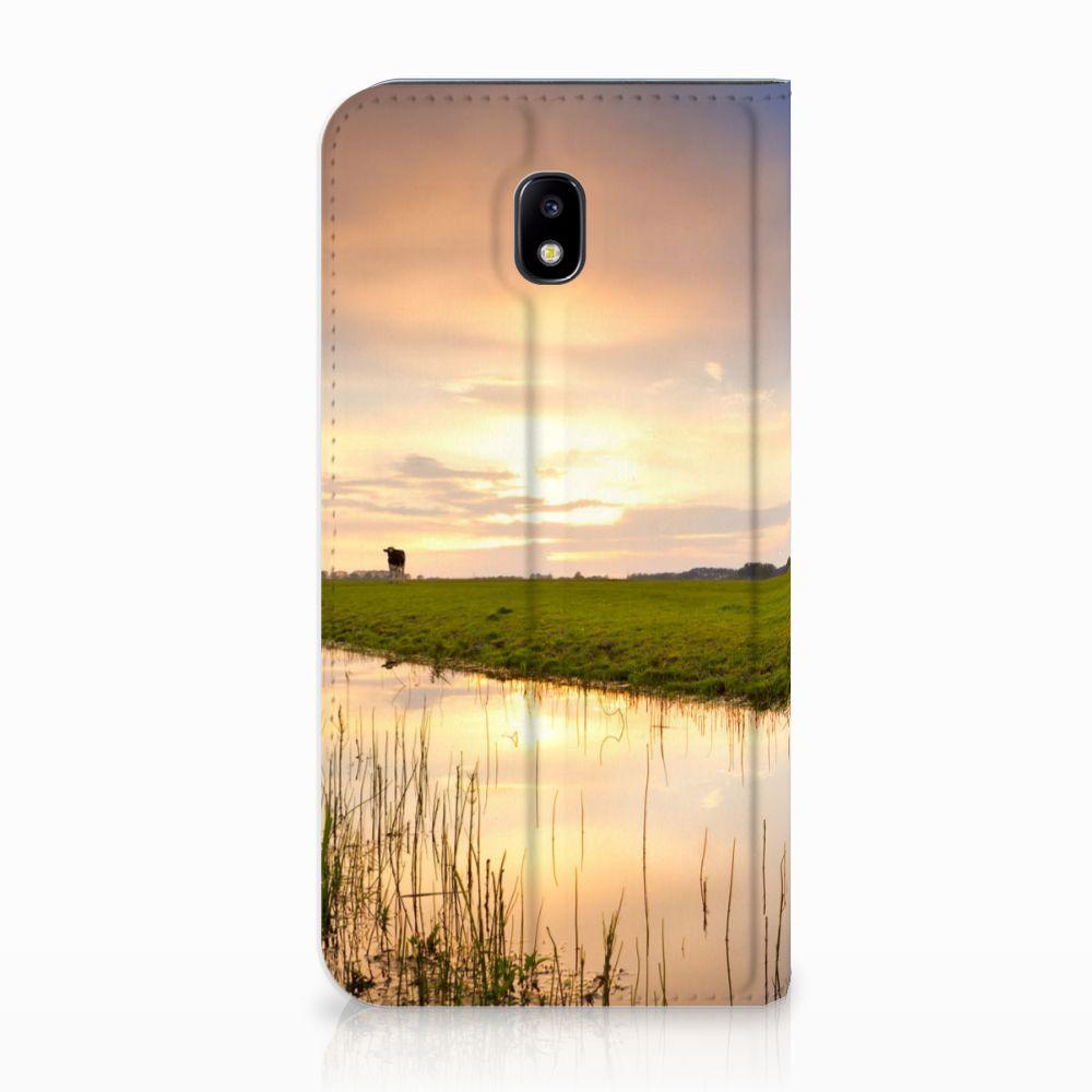 Samsung Galaxy J5 2017 Standcase Hoesje Design Koe