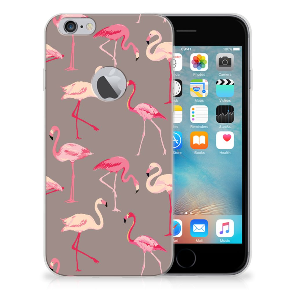 Apple iPhone 6 Plus | 6s Plus TPU Hoesje Flamingo