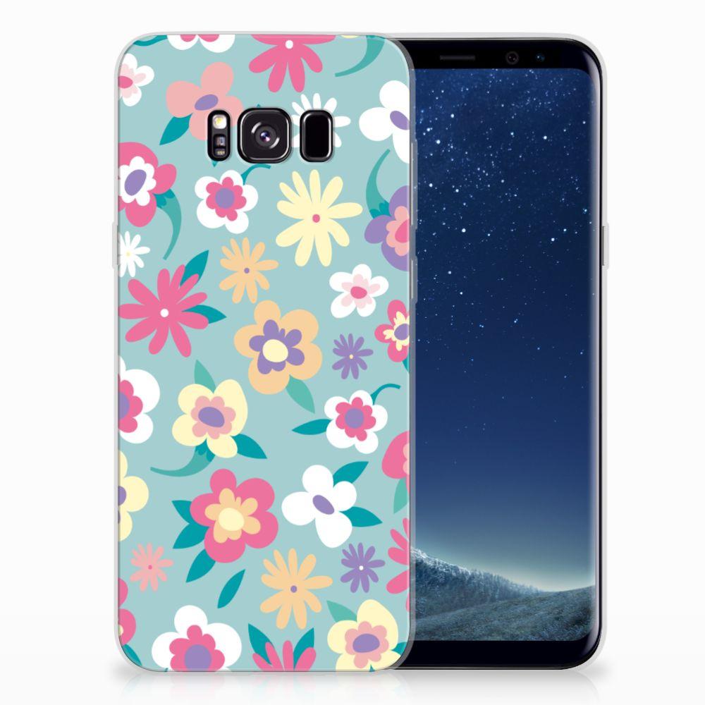 Samsung Galaxy S8 Plus TPU Case Flower Power