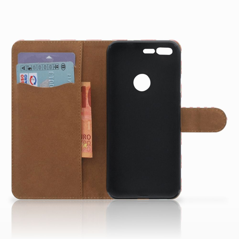 Google Pixel XL Book Cover Paprika Red