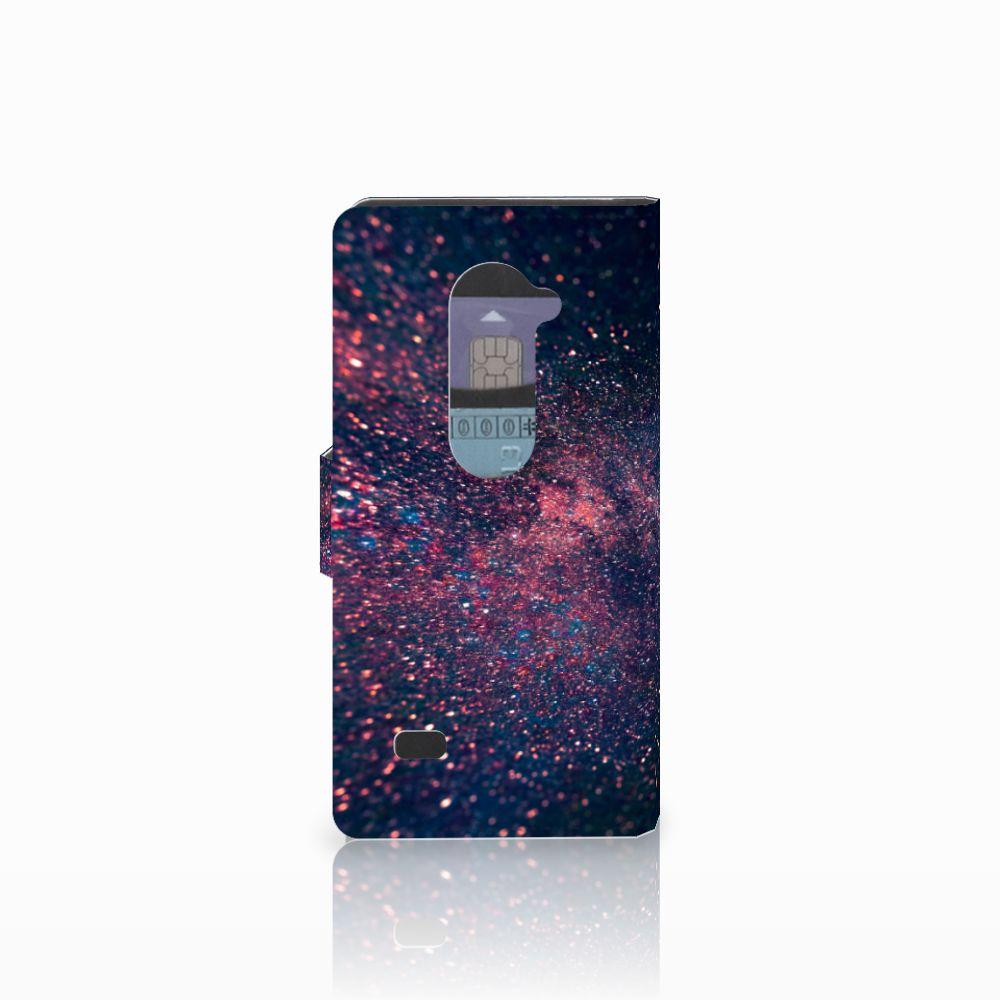 LG Leon 4G Bookcase Stars