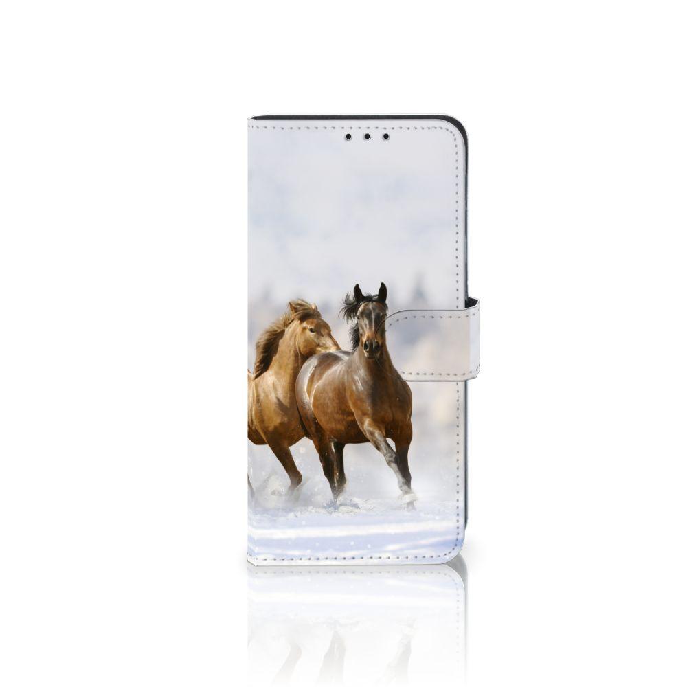Huawei Mate 20 Lite Uniek Boekhoesje Paarden