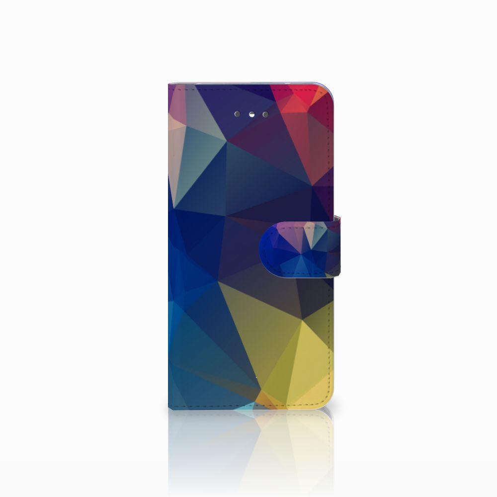 LG Nexus 5X Uniek Boekhoesje Polygon Dark