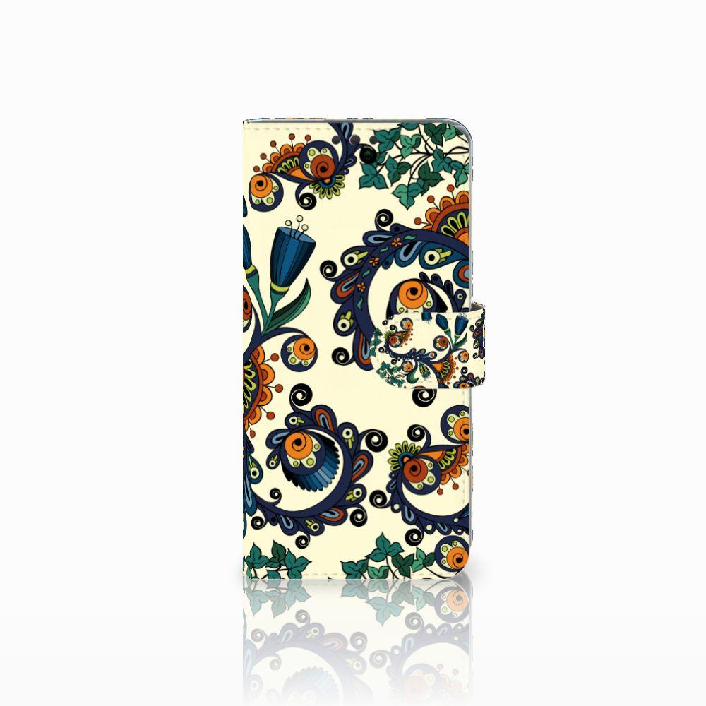 Sony Xperia Z5 Premium Boekhoesje Design Barok Flower