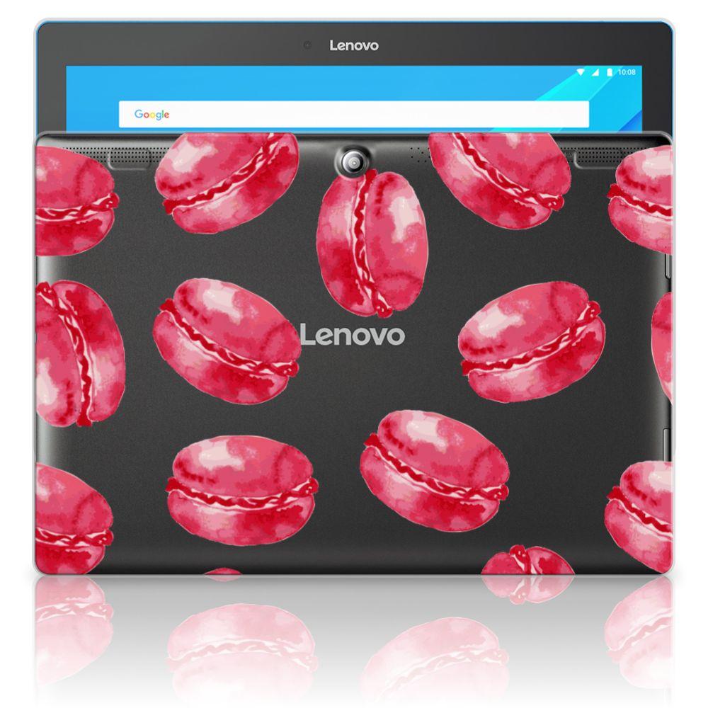 Lenovo Tab 10   Tab 2 A10-30 Tablet Cover Pink Macarons