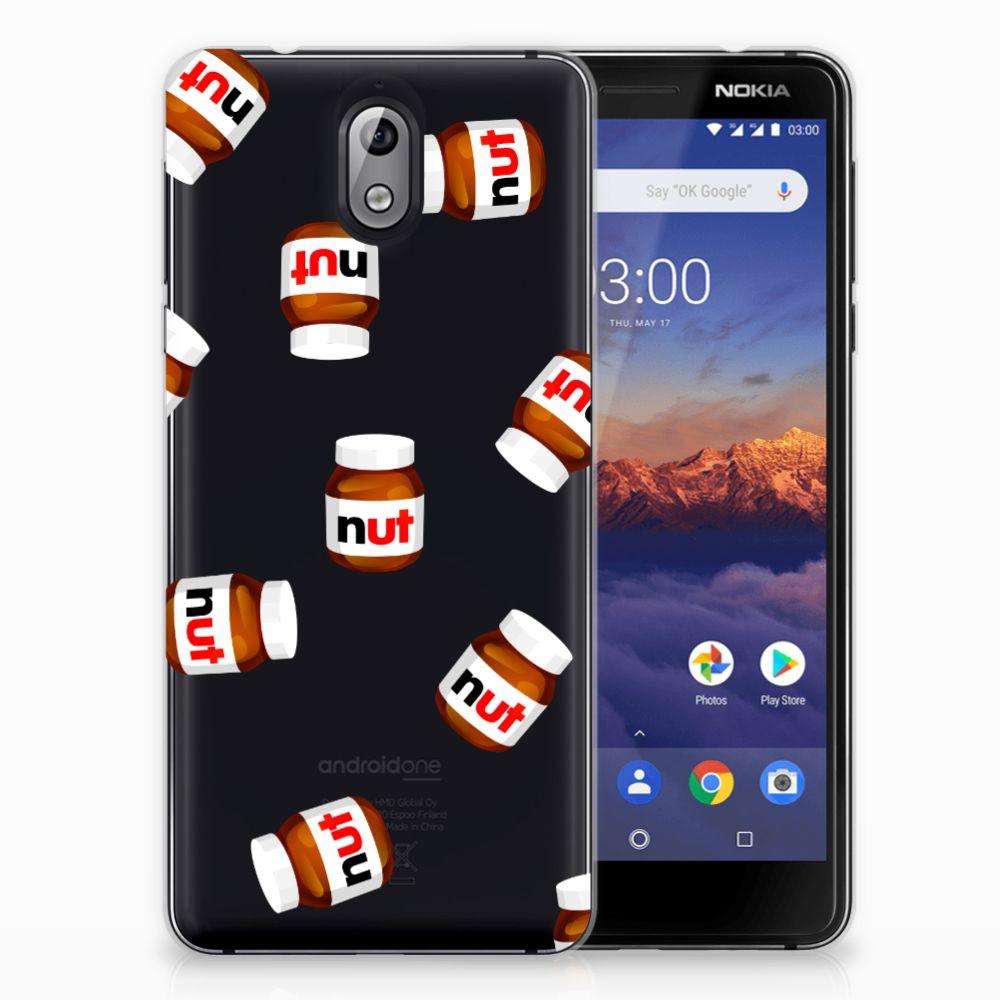 Nokia 3.1 (2018) Siliconen Case Nut Jar