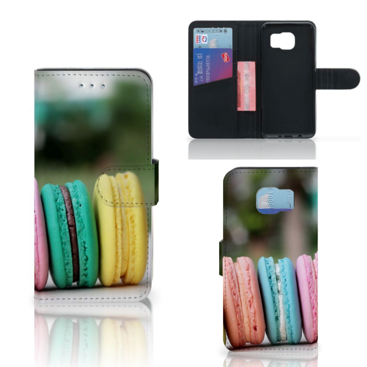 Samsung Galaxy S6 | S6 Duos Book Cover Macarons