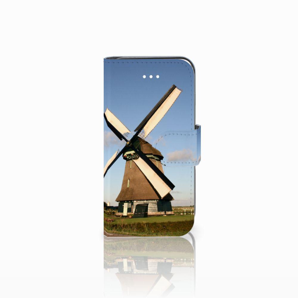Apple iPhone 5 | 5s | SE Uniek Boekhoesje Molen