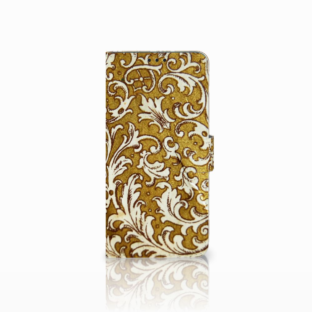 Huawei P Smart Plus Boekhoesje Design Barok Goud