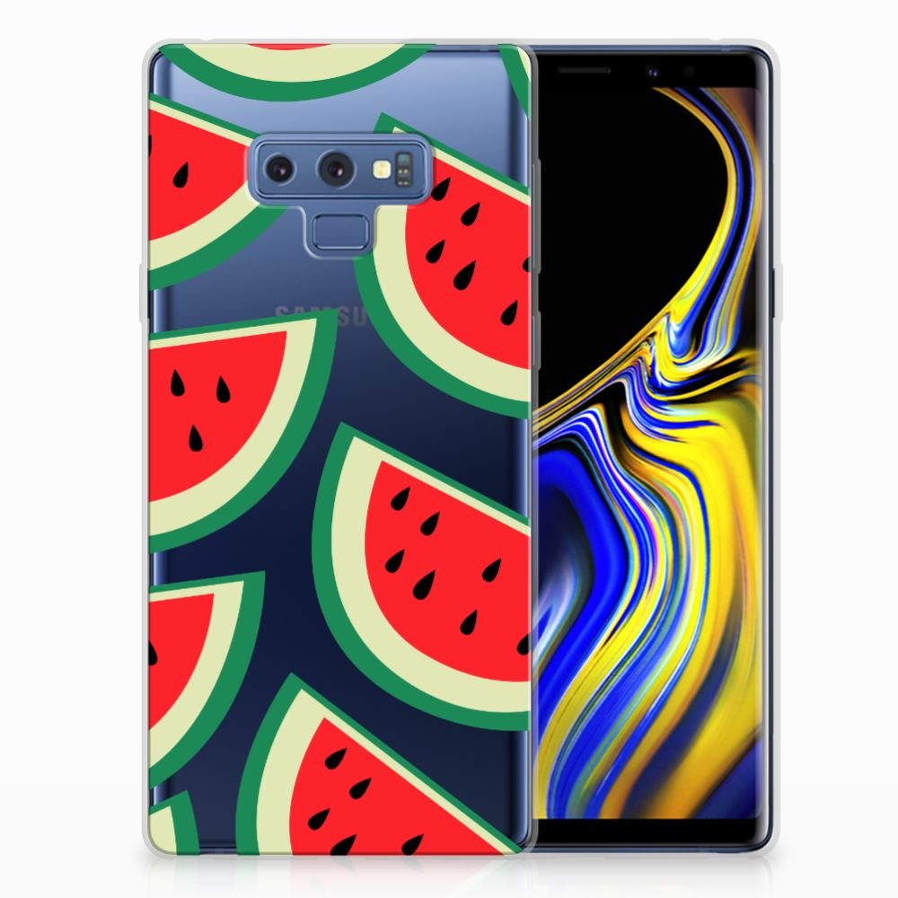 Samsung Galaxy Note 9 Siliconen Case Watermelons