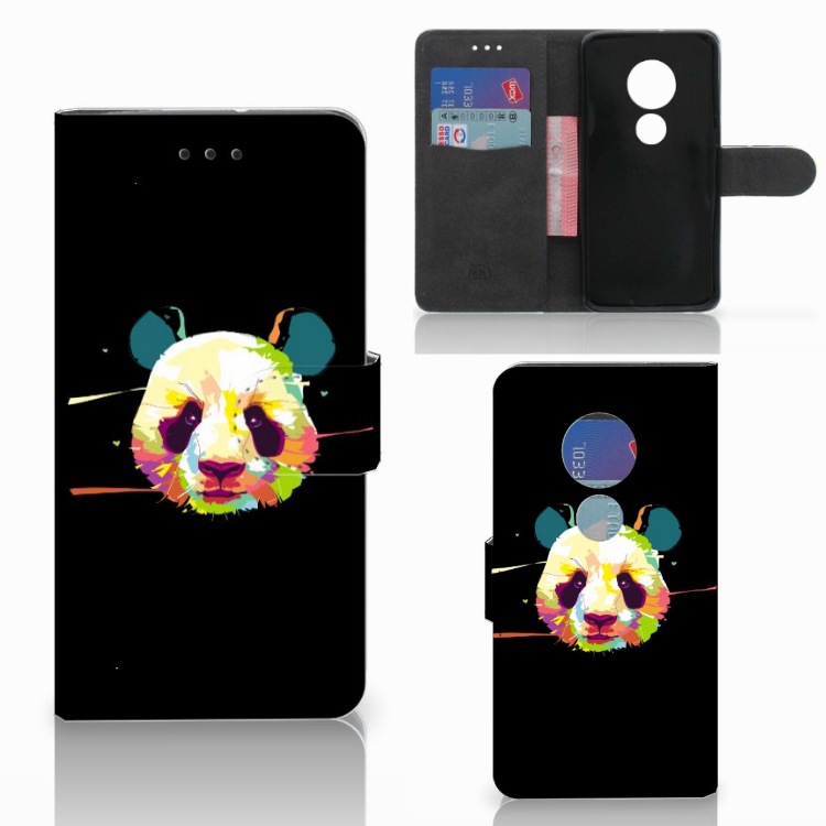 Motorola Moto G7 Play Leuke Hoesje Panda Color