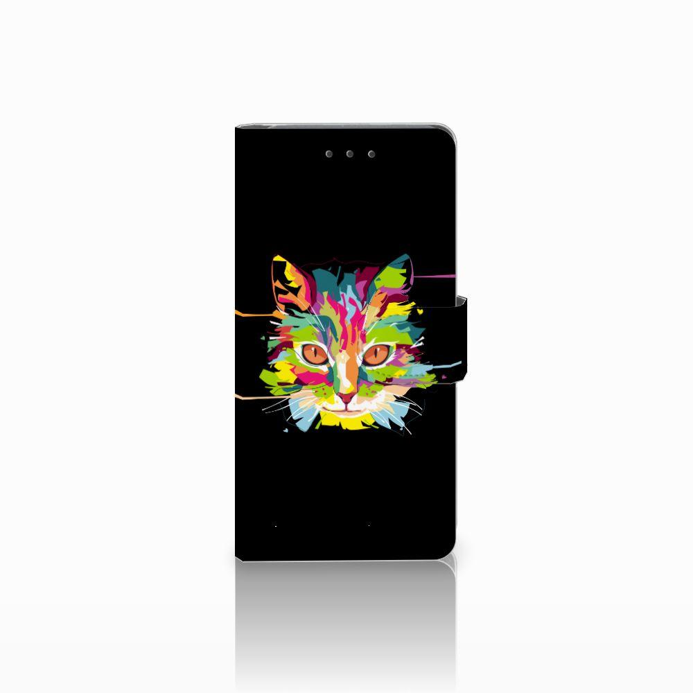 Samsung Galaxy Grand Prime | Grand Prime VE G531F Uniek Boekhoesje Cat Color