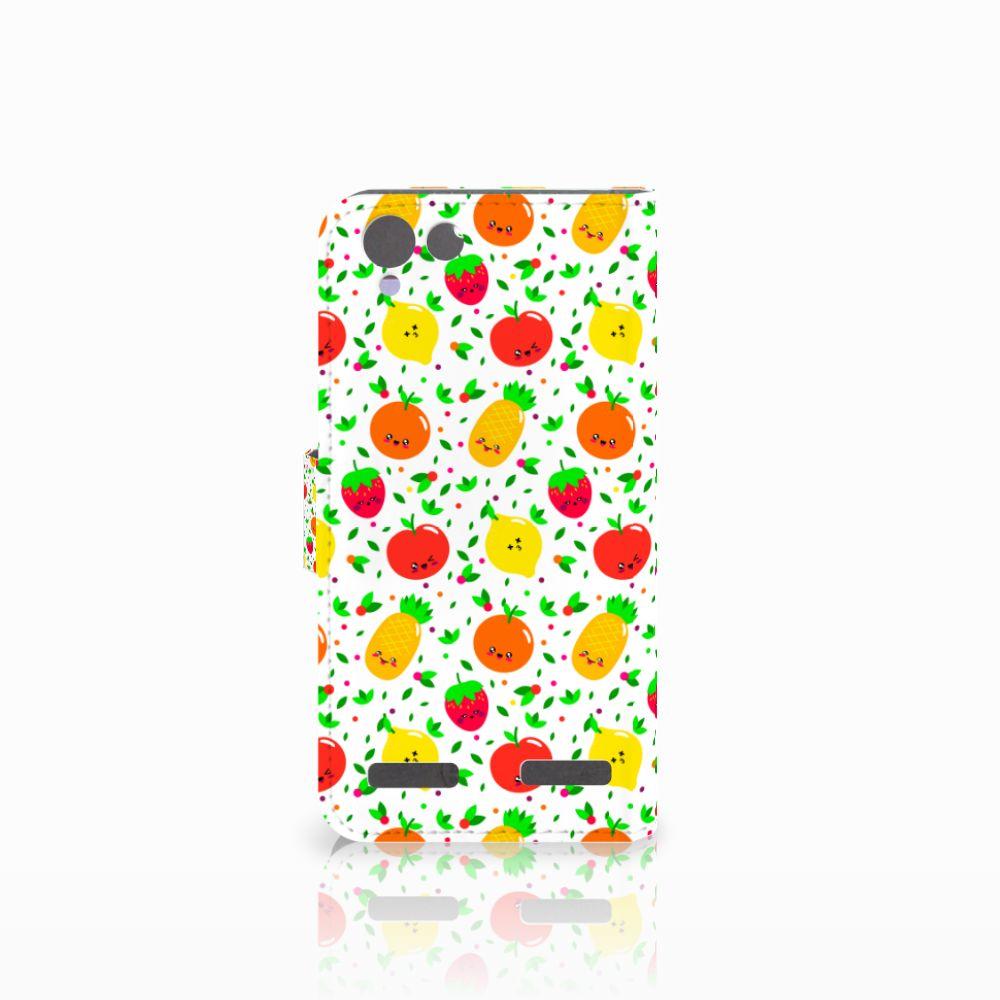 Lenovo Vibe K5 Book Cover Fruits