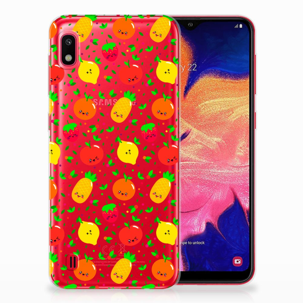Samsung Galaxy A10 Siliconen Case Fruits
