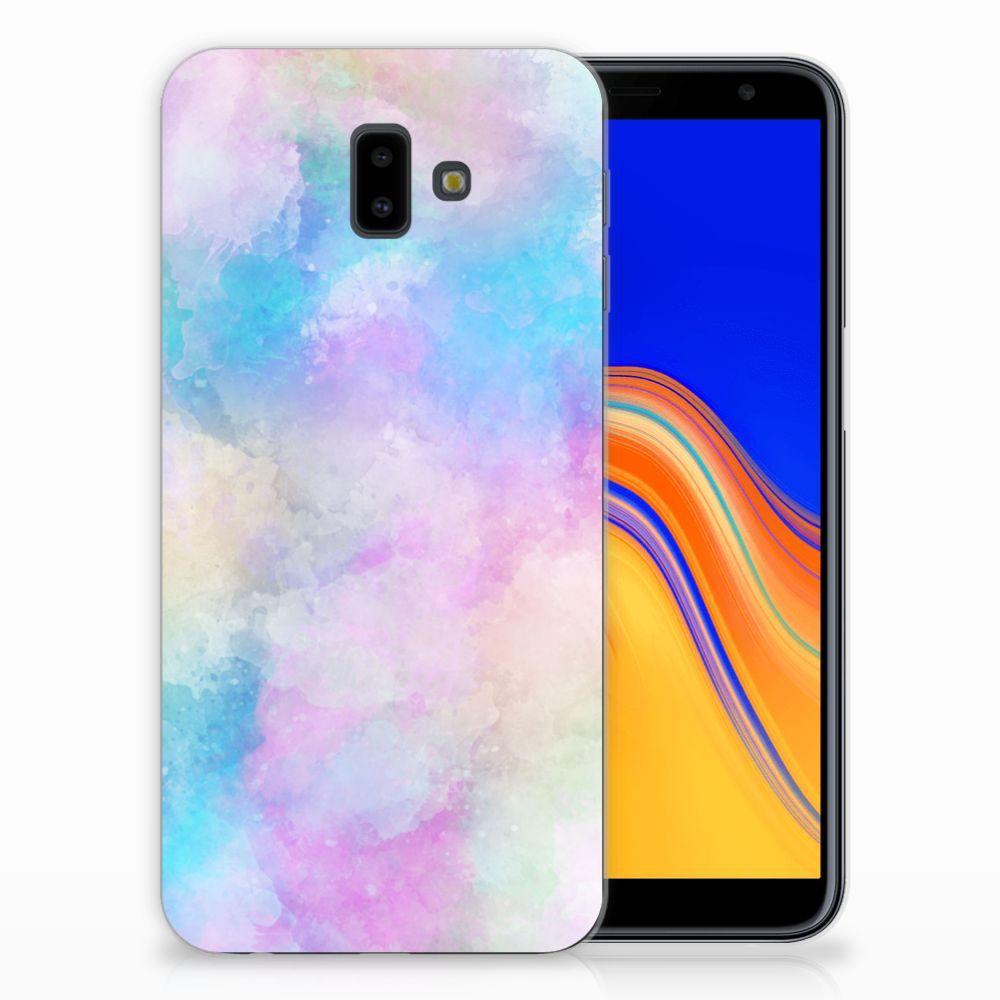 Hoesje maken Samsung Galaxy J6 Plus (2018) Watercolor Light