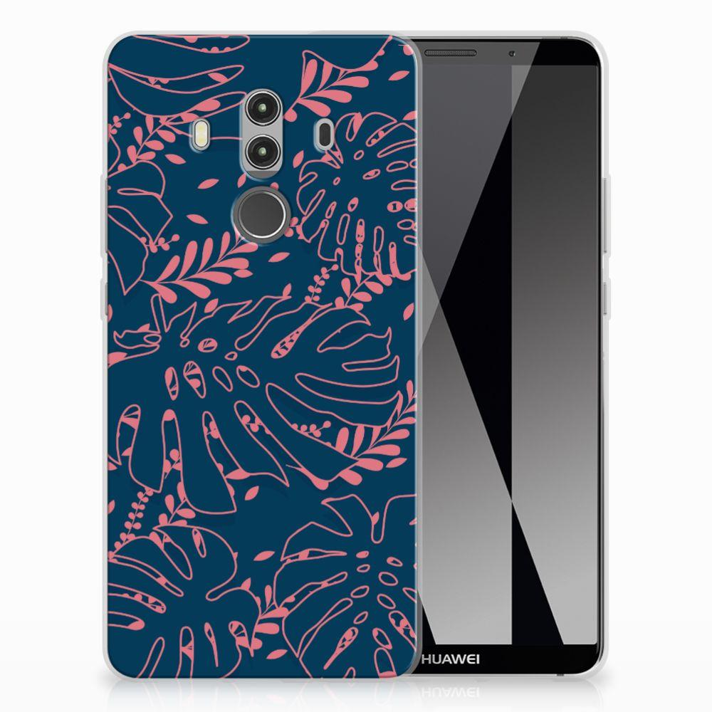 Huawei Mate 10 Pro TPU Hoesje Design Palm Leaves