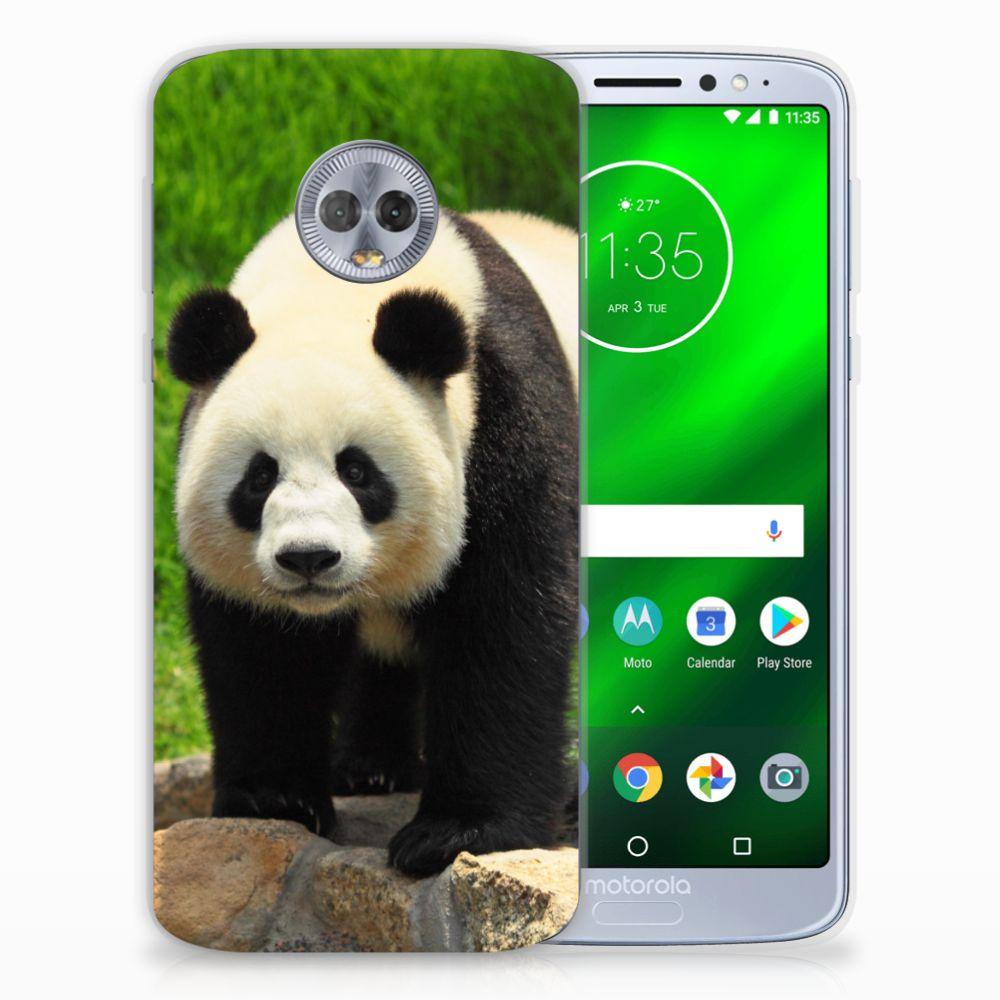 Motorola Moto G6 Plus TPU Hoesje Panda