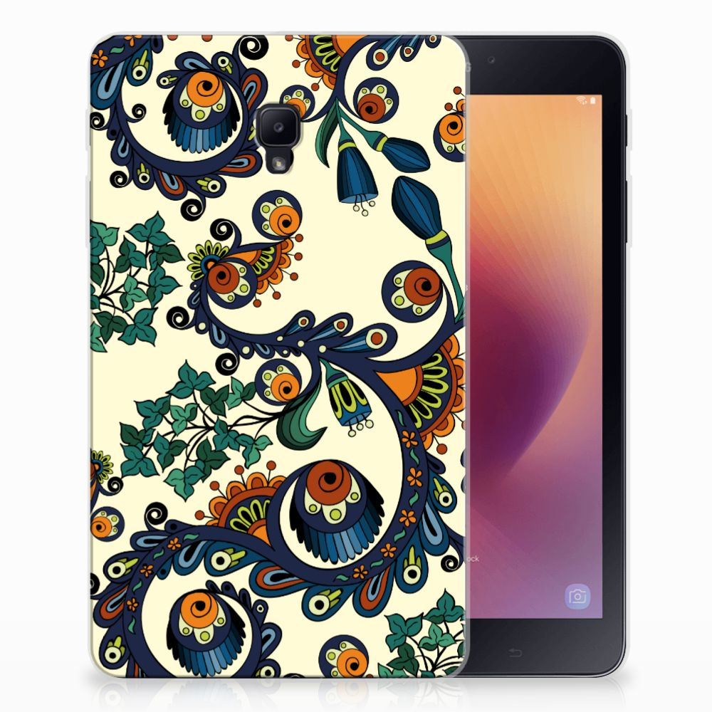 Samsung Galaxy Tab A 8.0 (2017) Tablethoesje Design Barok Flower