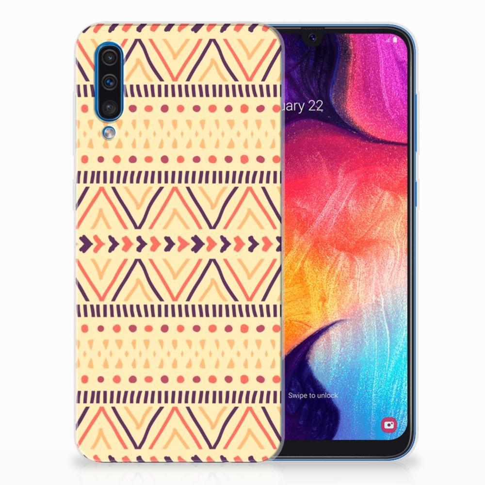 Samsung Galaxy A50 TPU bumper Aztec Yellow