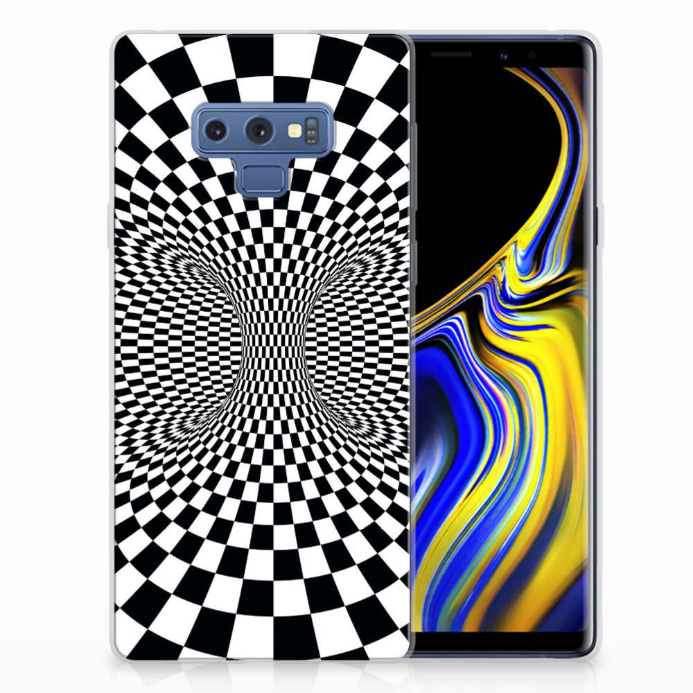 Samsung Galaxy Note 9 TPU Hoesje Illusie
