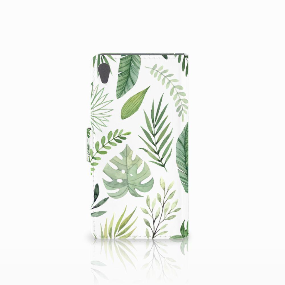Sony Xperia E5 Hoesje Leaves