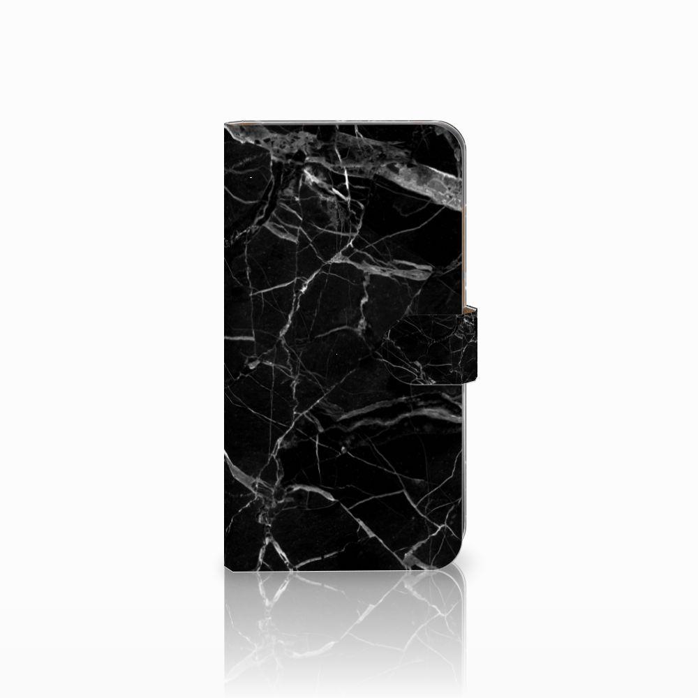 Huawei Mate 9 Uniek Boekhoesje Marmer Zwart