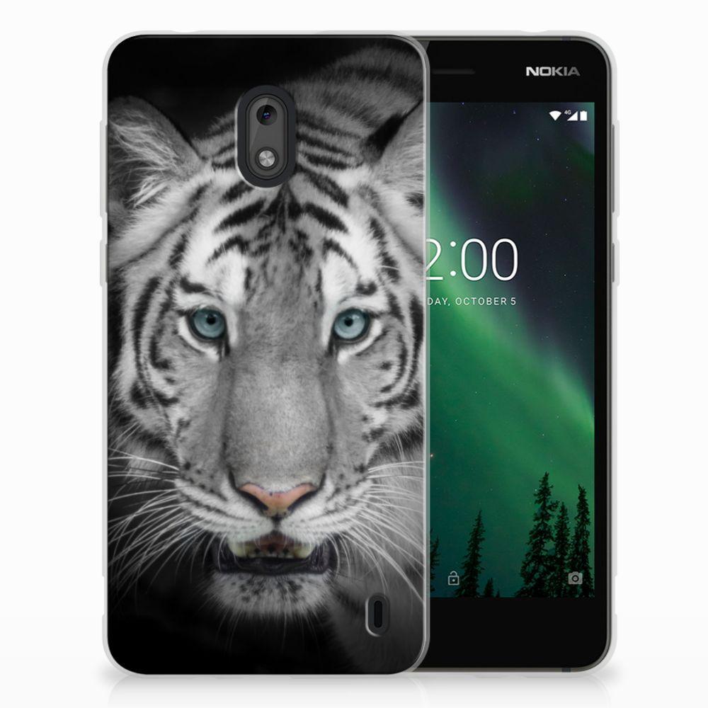 Nokia 2 Uniek TPU Hoesje Tijger