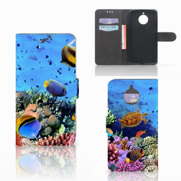 Motorola Moto E4 Plus Telefoonhoesje met Pasjes Vissen
