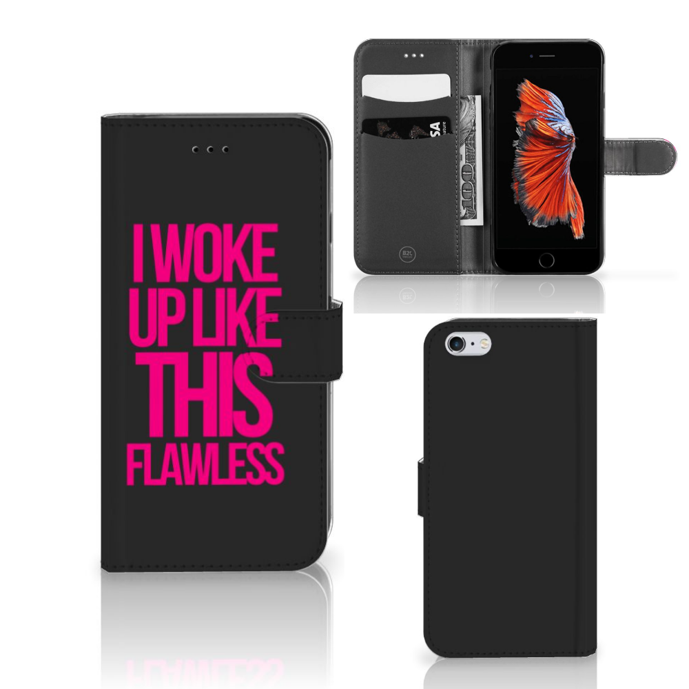 Apple iPhone 6 Plus | 6s Plus Hoesje met naam Woke Up