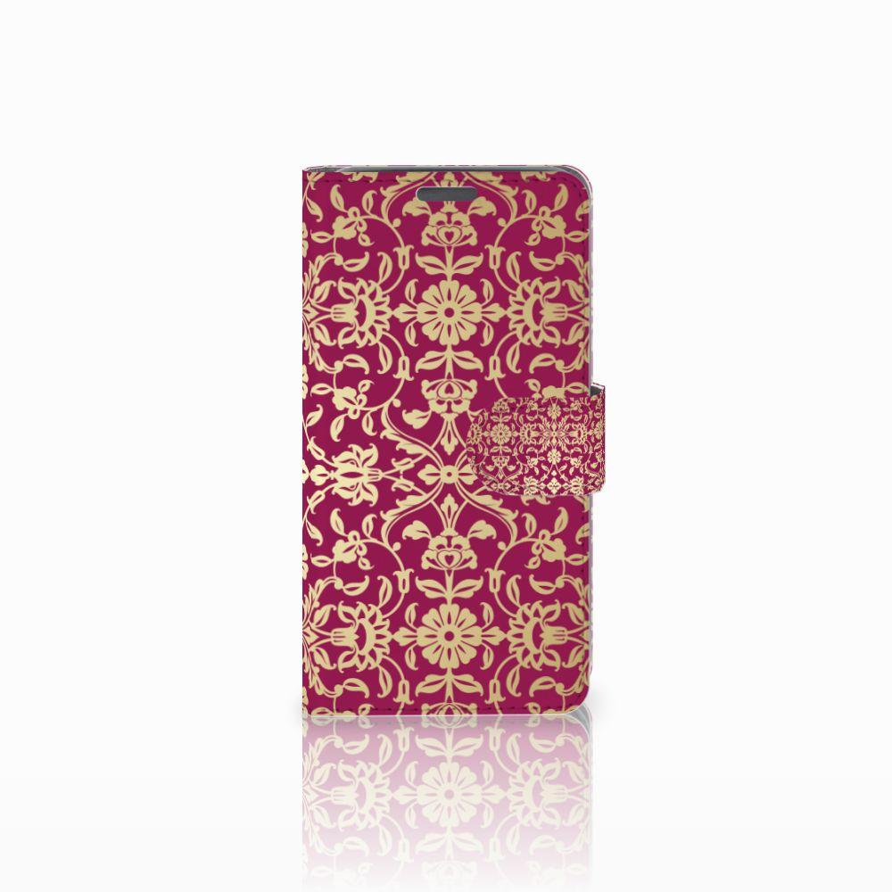 Wiko Lenny Boekhoesje Design Barok Pink