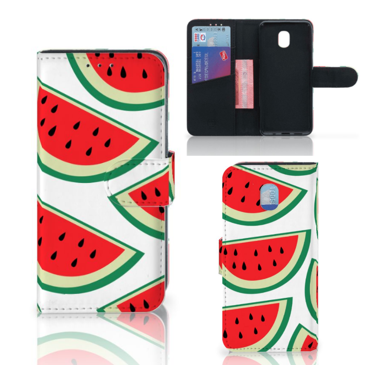 Samsung Galaxy J3 (2018) Book Cover Watermelons
