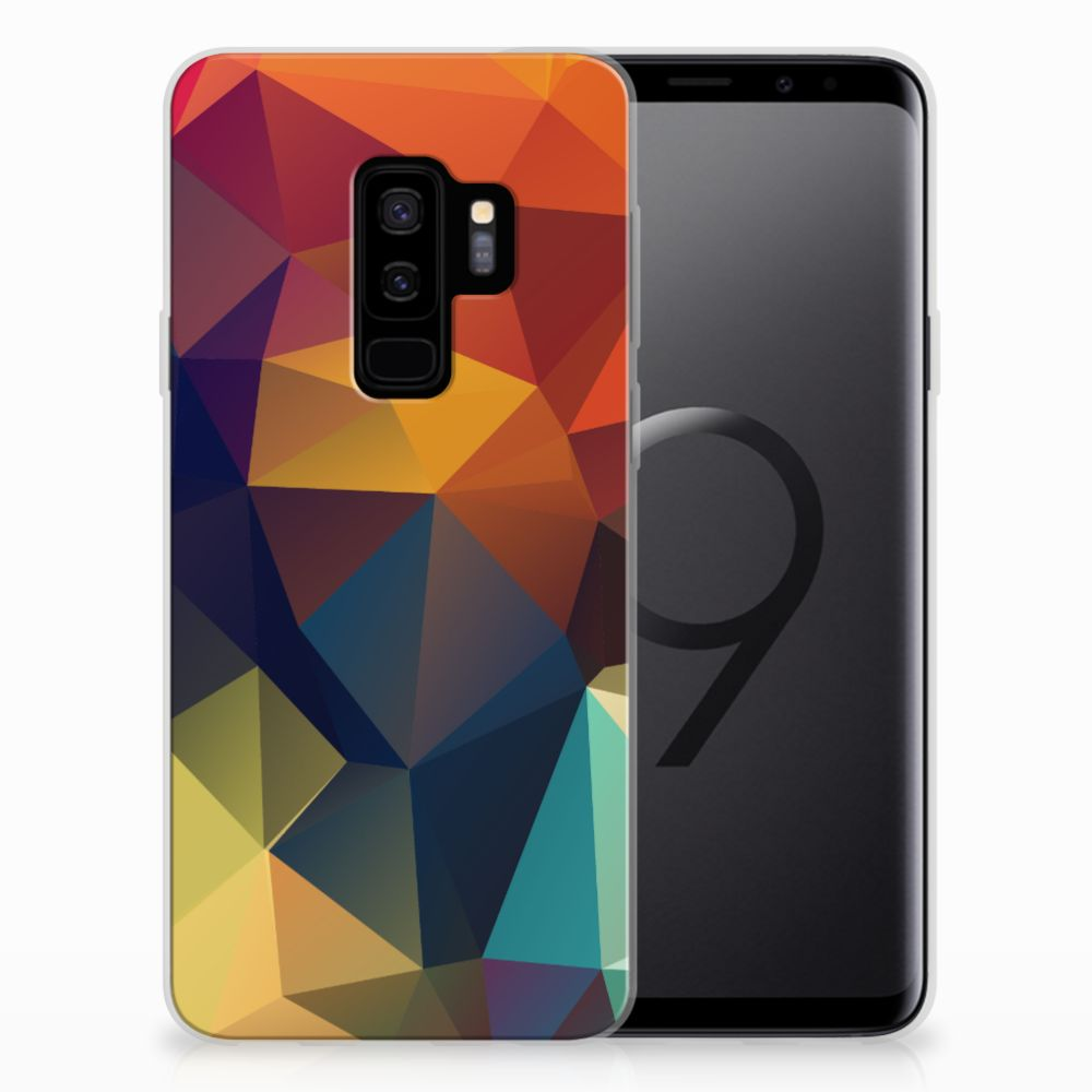 Samsung Galaxy S9 Plus TPU Hoesje Polygon Color