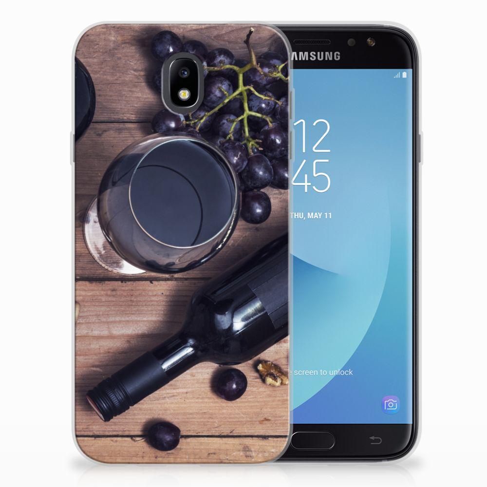 Samsung Galaxy J7 2017 | J7 Pro Siliconen Case Wijn