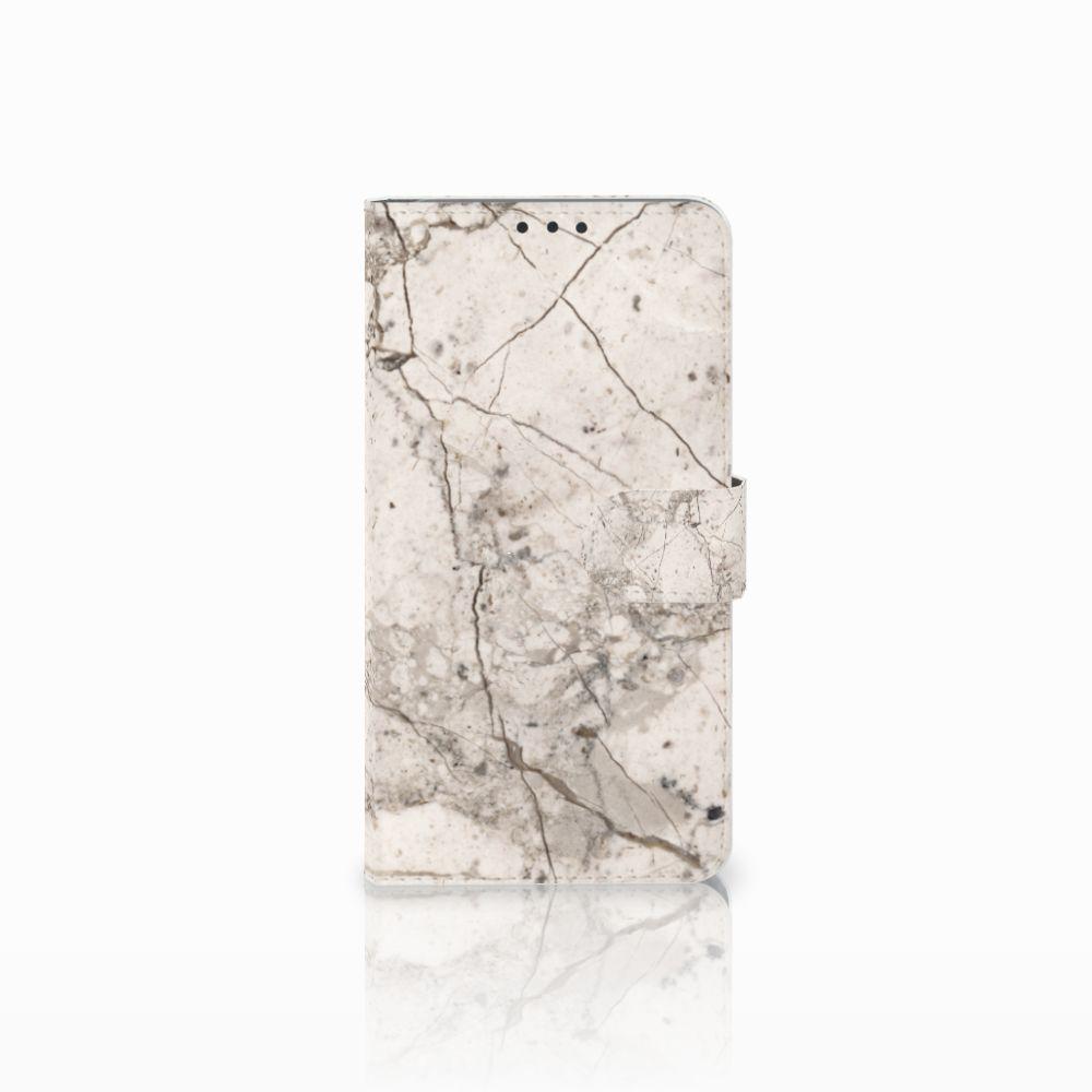 Microsoft Lumia 640 XL Bookcase Marmer Beige
